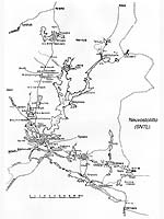 Места основных боев Зимней войны в Суомуссалми