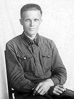 Joulukuu 1939. Puna-armeijalainen Vladimir Davidov, 163 D.