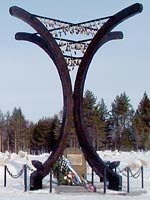March 15, 2003. The opening of Monument of the Winter War