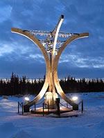 2003 год. Монумент Зимней войне